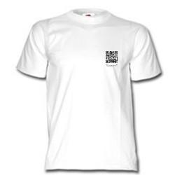 Tee-Shirt Temporis QR Code blanc