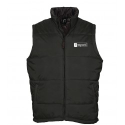 Bodywarmer noir Warm